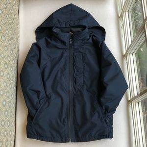 GAP Kids Boys' Fleece-Lined Windbreaker